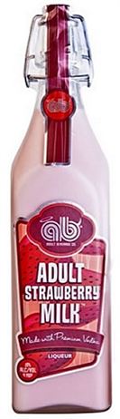 Adult Beverage Company Adult Strawberry Milk 40 Proof